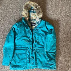 Woolrich vintage fur wool jacket